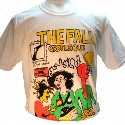 The Fall Grotesque Square Punk Rock Goth Band T-shirt