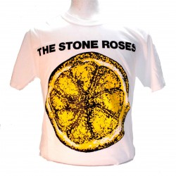 The Stone Roses Lemon Square Punk Rock Goth Ska Band T-shirt